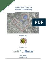 State Center Site Alternative Land Use Study.final 01 2018