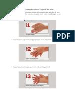 Cara Cuci Tangan 7 Langkah Pakai Sabun Yang Baik d