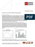 Indian Economy Booming Again _Sept 2010