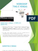 Vendas e Marketing