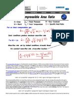 Compressible Area Ratio