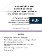 Integrated Electricity Gas Network Analysis Challenges Opportunities Low Carbon Energy Systems