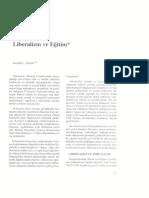Gerald L. Gutek - Liberalizm Ve Eğitim