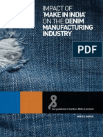 Denim's Industry - Impact of Make in India.pdf