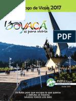 BOYACÁ - Programas Recomendados 2017 - Paipa Tours