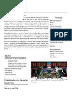 Finanças (Resumo Geral)