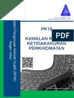 PK15 KAWALAN KE ATAS KETIDAKAKURAN PERKHIDMATAN.doc