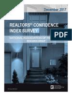 2017 12 Realtor Confidence Index 01-22-2018