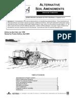 Alternative Soil Amendments