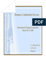 Biomass Combustion Devices