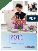 Tabela Preços - Brabantia 2012