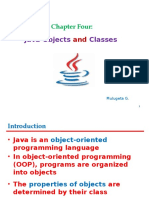Chapter  ~ 4 java