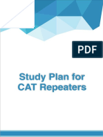Study Plan for CAT Repeaters