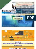 Sesion 03 Tic-02 2018 Bases Pedagogicas II