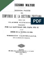 Catecismo Mayor de San Pío X