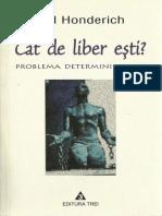 Ted Honderich - Cat de liber esti.pdf