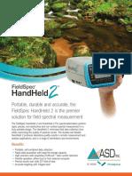 [16]Fieldspec Handheld Datasheet