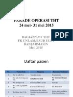 Parade Operasi Tht Xxiv l 23 Mei 2015