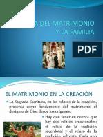 Teología Del Matrimonio y de La Familia