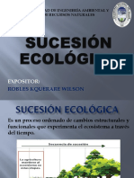 SUCESION ECOLOGICA