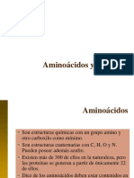 1. Aminoácidos proteinas