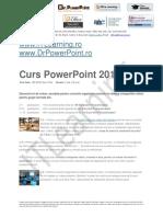 Brosura Curs Powerpoint 2010