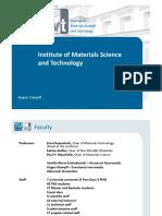 3-Praesentation_WT_Institut Für Werkstffwissenschaft Und Werkstofftechnologie_SS2016