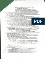 Phys4302 Exam II Spring 2014