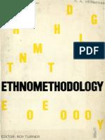 Turner, Roy. Ethnomethodology. Texto de Cicourel.pdf