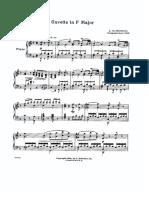Beethoven Bauer Gavotte