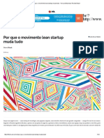 Por Que o Movimento Lean Startup Muda Tudo - Harvard Business Review Brasil