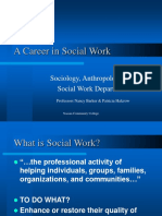 A Career in Social Work