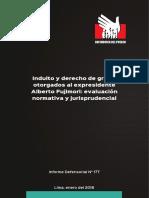 Informe Defensorial 177 18 Indulto Fujimori