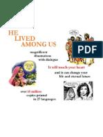 English - He Lived Among Us
