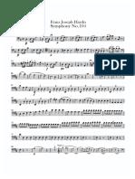 Haydn Sym104 1. Satz (Cello)