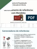 Gerenciamento de Referências Com Mendeley