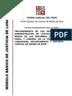Caso Práctico - Mejoramiento Servicios de Administración de Justicia Lunahuana