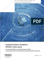 Isaca 2017 Implementation Guideline Isoiec27001 Screen