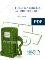 Clean Fuels and Vehicles Toolkit Full Report