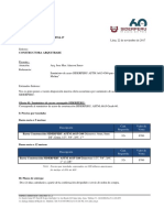 COTIZACION N° SP-CC-FH-0914-17