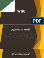 Qué es un WIKI