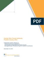 2016 (Verified) COTA Comprehensive Annual Financial Report 2016
