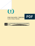 Psicología y Religión