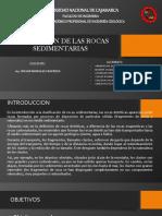 CAP VII Clasifiación de  Rocas Sedimentarias.pptx