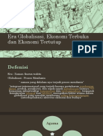 Era Globalisasi Dan Ekonomi Terbuka