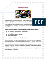farmacologia carpeta analgesicos