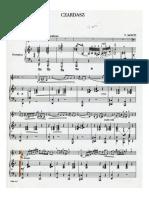 Czardasz Piano PDF