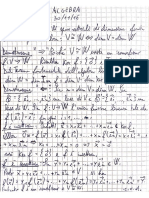 Algebra Lineare appunti