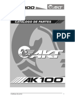 Catalogo Partes AKT - AK 100 - 2004