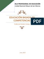 Educación Basada en Competencias UNMSM
